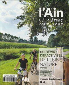 Le Tourisme Équestre bien représenté dans le guide 2020 des activités de pleine nature del'Ain!